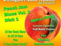 Designer Jam Tracks - Peach Jam Vol 1 Disk 1. Blues in