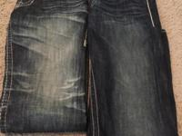 "Designer jeans from ""BUCKLE"" like new condition Size"
