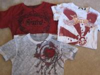 here's a lot of 3 designer shirts all bought from