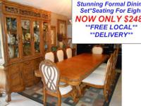 The Wait Is Over...This Is the Set Your Dining Room Has