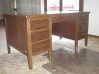 Great shape Maple desk $250. Must be able to move on