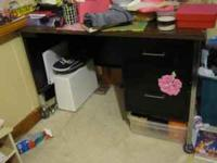 DRESSER AND DESK FOR SALE, DRESSER NEEDS PAINTING,BUT