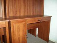 "44"" wide was computer keypad area hutch top for"