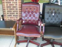 desk chairs 1 at $25.00 --1 at $35.00-- 1 at $50.00