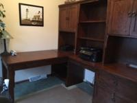 Beautiful desk perfect for a home office for $900, CASH