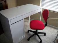 Desk For Sale White Real Nice Call to see  OBO