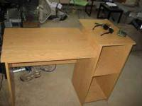 I have a desk nightstand and mattress for sale that