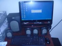 desk top emachine w3619 with 19inh display windows xp