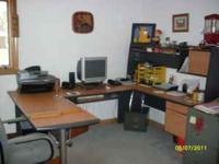Large office desk great condition. $1000 obo. For more