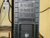 Desktop Computer (case like mini server). Intel Pentium