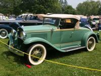 Desoto Roadster runs and drives great. This car is very