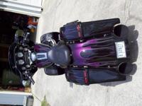2006 Harley Davidson Street Glide Custom Bagger. This