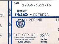 Sport: Baseball Year: 1988 Team-Baseball: Milwaukee