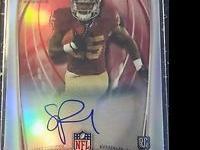 Year: 2014 Team: Washington Redskins Card Attributes: