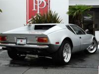 Immaculate 1974 DeTomaso Pantera Show Car. Highest
