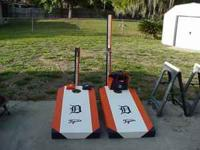 Special Custom CornHole Boards.This is a Detroit Tigers