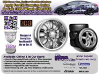 *$299 down doc. fee/tax = new wheel package  Discounted
