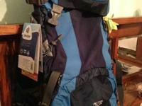 The lightweight Deuter ACT Lite 60 + 10 SL pack for