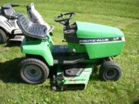 Deutz-Allis 1616 Hydro riding lawn mower. 48 inch deck.