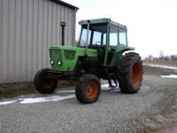85 PTO HP. 6 cylinder air cooled diesel. Shuttle with