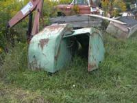 FOR SALE IS A PAIR OF REAR FENDERS FOR A DEUTZ D100. I