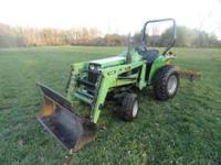 deutz allis 5220 tractor with 435 loader,nice