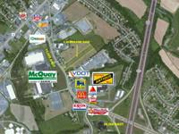 5 acres of office, financial investment, or development
