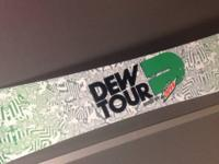 Brand new snowboard built by Mountain Dew for the Dew