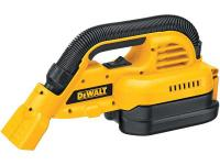 The DEWALT DC515B compact cordless vacuum provides its