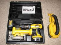 I have some Dewalt 18 volt tools for sale. It is a kit
