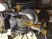 DeWalt 780 Dual Bevel Saw w/LED (used 1 time) $450