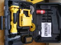 New never used, in original packaging, DEWALT DC413KL