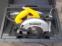 DEWALT DW362 7-1/4-Inch 15 Amp Light Weight Circular
