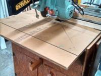 DeWalt Radial Arm Saw South Habitat ReStore 1003 South
