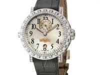 Dewitt, Academia, Men's Watch, 18K White Gold and