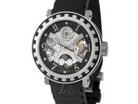 Dewitt, Academia, Men's Watch, 18K White Gold, Titanium
