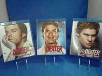 I have seasons 1,2, & 3 of Dexter on blu ray. All are