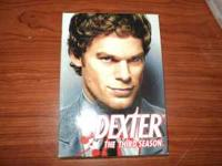 Season 3 of Dexter on DVD. Like new. $10. Text or call