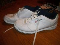 Dexter White Leather Men's Size 8 1/2 Bowling Shoes