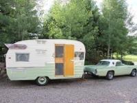 3-way refrigerator: 12 VDC, 110V, propane- vintage