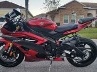 I have an EXTREMELY nice Red 2007 Yamaha R6 for sale.