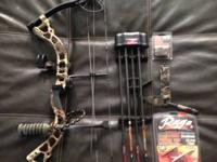 Brand new bow bought in early November for wife and she