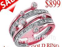 WE OFFER YOU DESIGNER DIAMOND BAND IN. 14KT GOLD IN