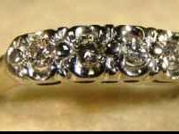 Stock #228 $200.00 Check out this diamond band! It
