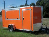 """ 6 X 12 CONCESSION TRAILER DIAMOND CARGO ORIGINAL This"