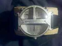 Custom joe rodeo diamond watch 1ct..ee time zones