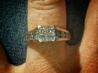 I am selling my well cared for Diamond Engagement ring.