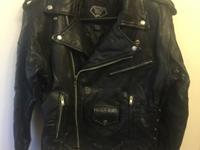 Diamond Plate Buffalo Motorcycle Jacket for sale. The