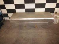 I have a diamond plate truck tool box for a 6ft bed.