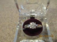 Brand name New with tag, Gorgeous 1.01 Carat Round